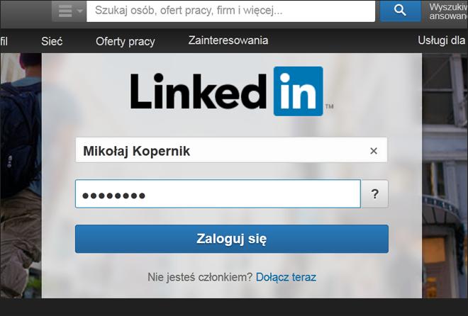 Krok 9 jak założyć profil na Linkedin