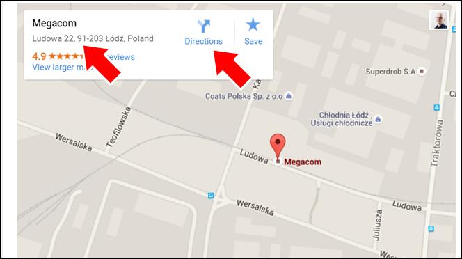 Adres firmy i wskazówki dojazdu - zalety mapki Google na stronie internetowej
