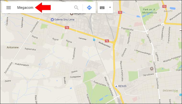 Jak wstawić Mape Google na stronę internetową - krok 1 - Poradnik