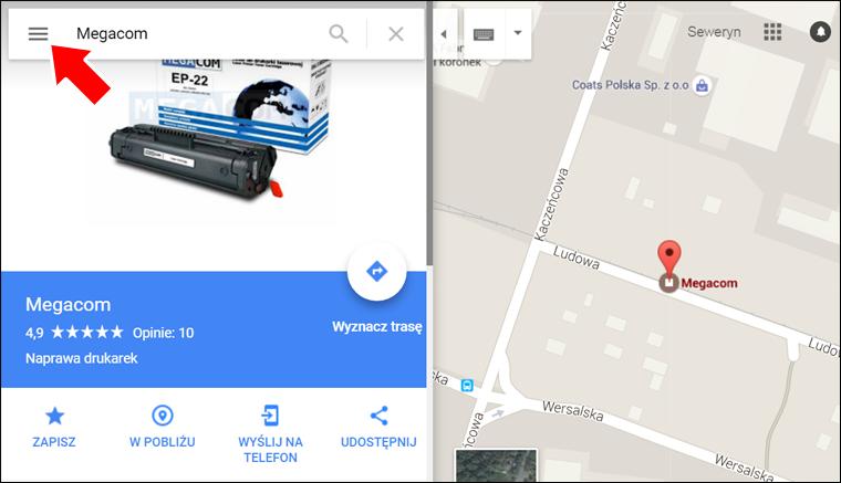 Jak wstawić Mape Google na stronę internetową - krok 2 - Poradnik