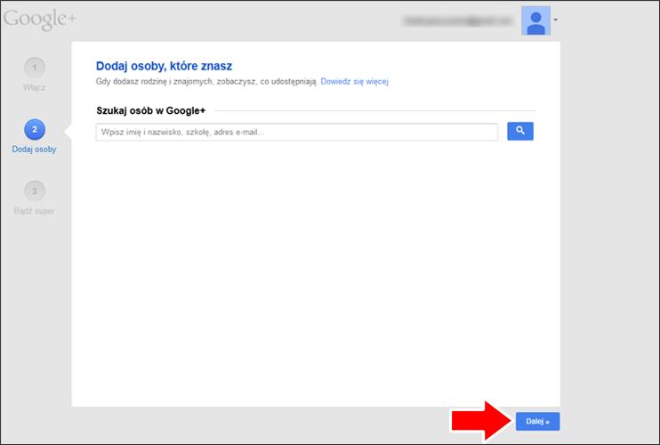 Jak założyć konto Google krok 15 - poradnik