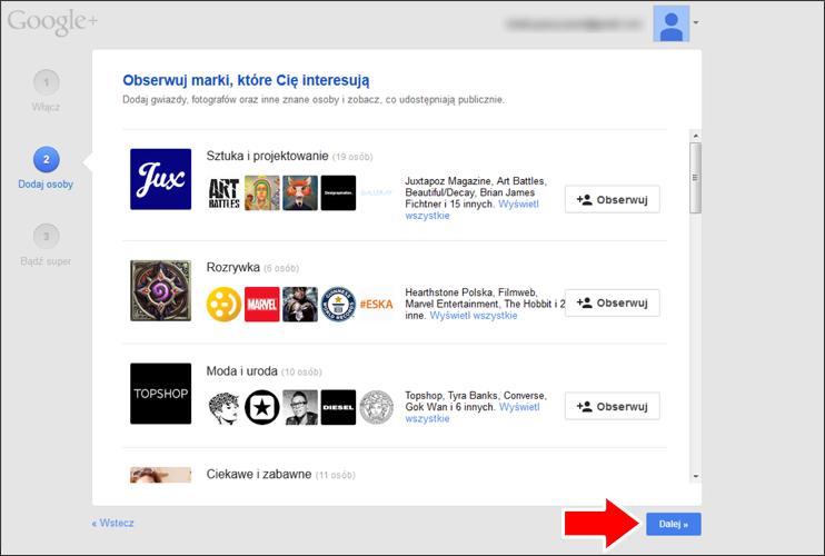 Jak założyć konto Google krok 16 - poradnik