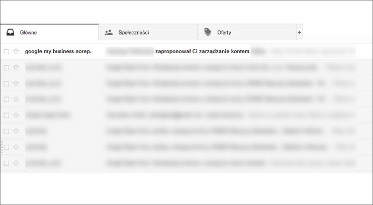 Poczta Gmail Google