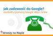 Wizytówka Google Moja Firma - Kontakt