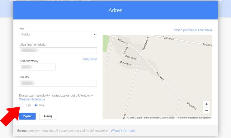 Jak Ukryć Adres Na Wizytówce Google Praktyczny Poradnik
