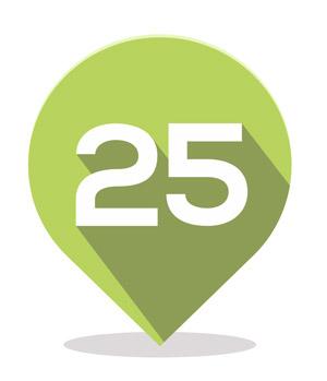 25 uratowanych lokalizacji Google