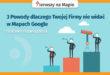 Wizytówka Google Moja Firma - wyświetlanie - grafika