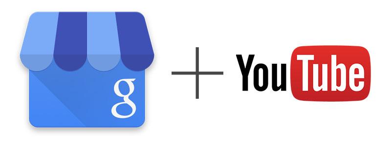Kanał YouTube - połączenie z wizytówką Google