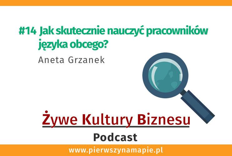 Grafika wyróżniająca - odcinek podcastu z Anetą Grzanek