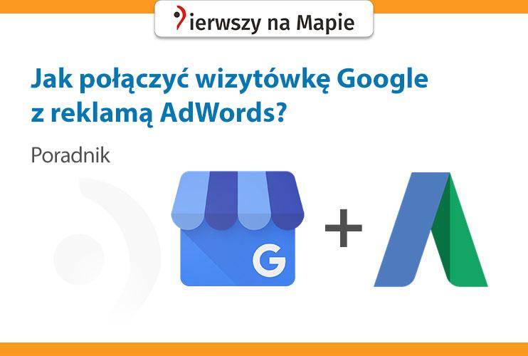 Łączenie lokalizacji Google z Google AdWords - grafika na okładkę