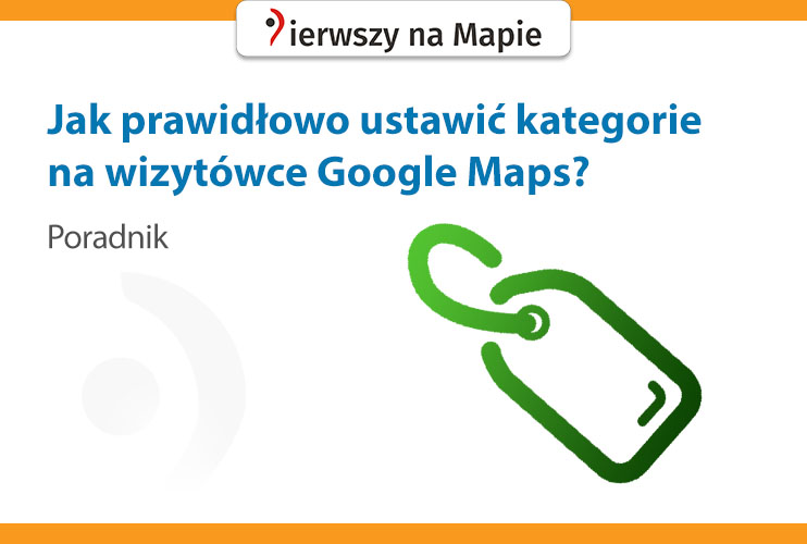 Kategorie - wizytówka Google
