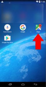Ikona Google Maps