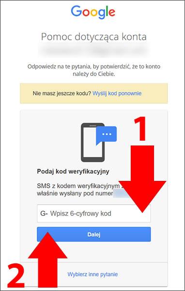 64107744040d09 Jak odzyskać hasło do konta Gmail oraz Google? Poradnik krok po kroku