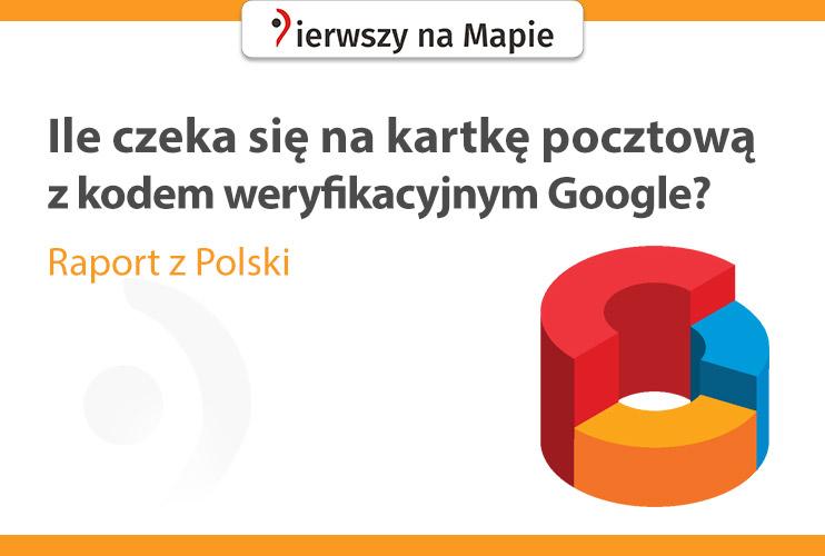 Czas oczekiwania na kod Google