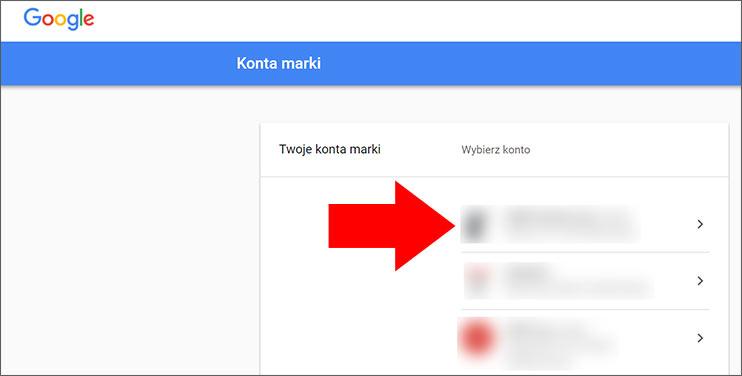Konto marki Google