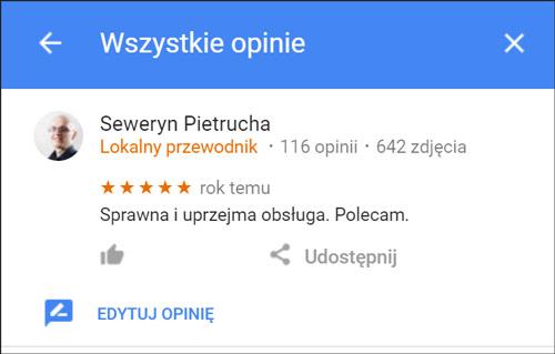 Lokalny przewodnik Google