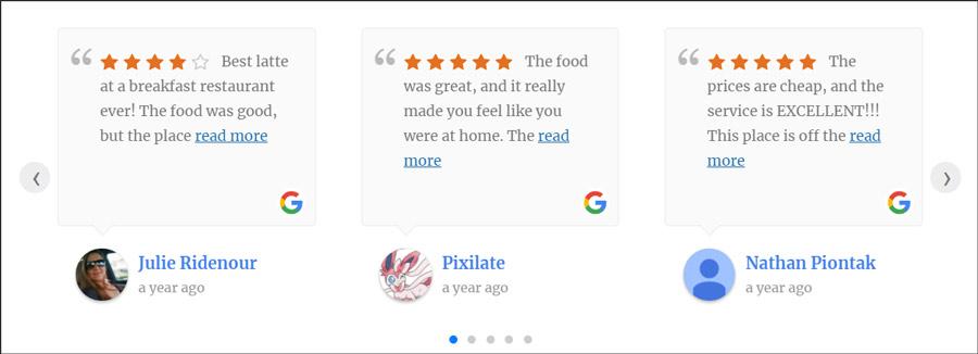 248737d6abbd2b Jak zamieścić opinie z wizytówki Google na stronie www na Wordpressie?