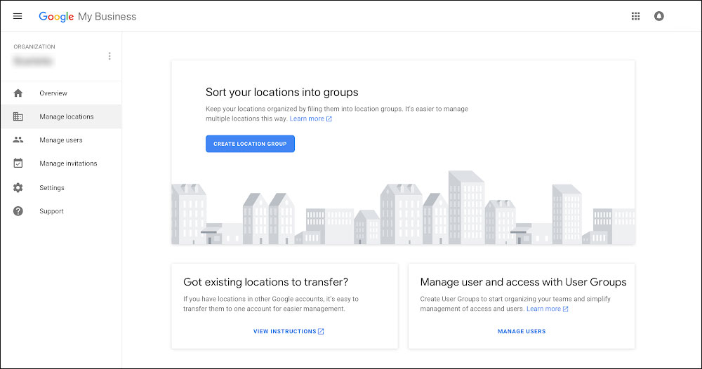 Panel Google Moja Firma