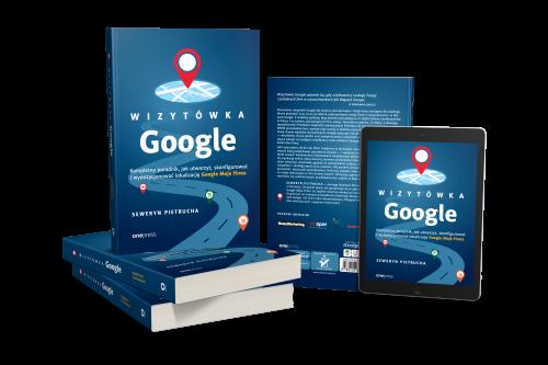 Książka i tablet Wizytówka Google - Seweryn Pietrucha